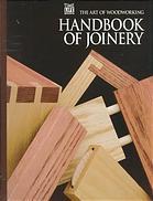 Handbook of joinery