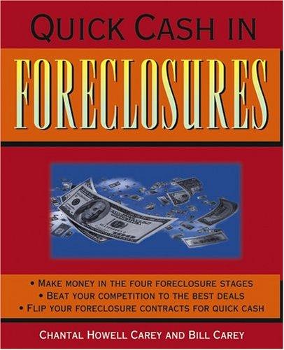 Quick Cash in Foreclosures