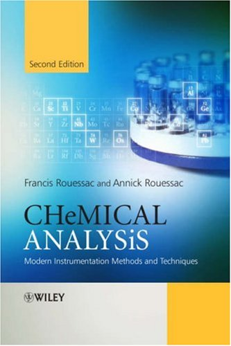 Chemical analysis : modern instrumental methods and techniques