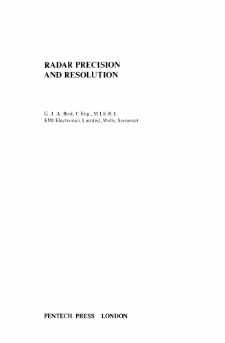 Radar precision and resolution