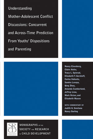 Understanding Mother-Adolescent Conflict Discussions: Concurrent and Across-Time Prediction from Youths Dispositions and Parenting