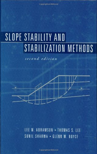 Slope stability and stabilization methods
