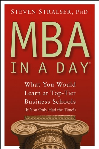 MBA In A Day: What You Would Learn At Top-Tier Business Schools