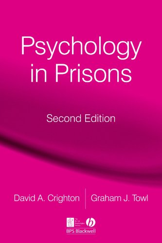Psychology in prisons (Second Edition)