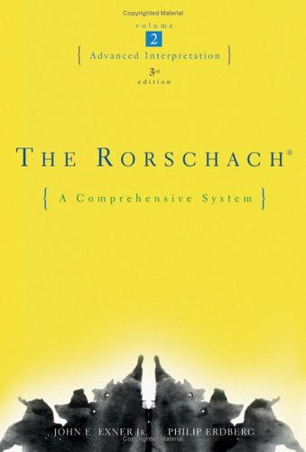 The Rorschach, Advanced Interpretation
