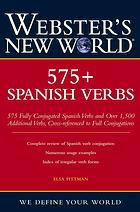 Websters New World 575+ Spanish verbs