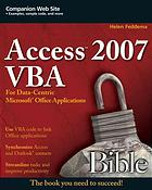 Access 2007 VBA bible : for data-centric Microsoft Office applications