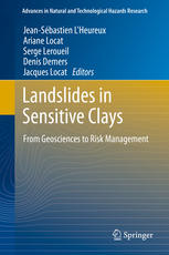 Landslides in Sensitive Clays: From Geosciences to Risk Management