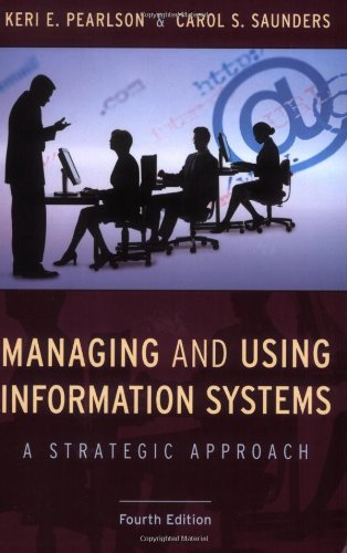 managing and using information systems a strategic approach pdf free