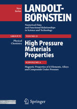 Magnetic Properties of d-Elements, Alloys and Compounds Under Pressure