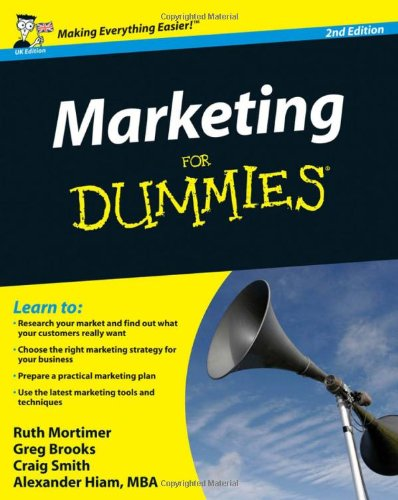 Marketing For Dummies (UK Edition), 2nd Edition