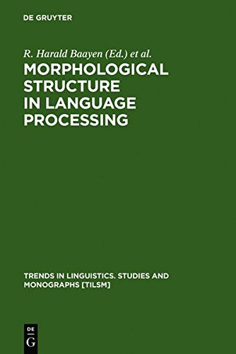 Morphological Structure in Language Processing