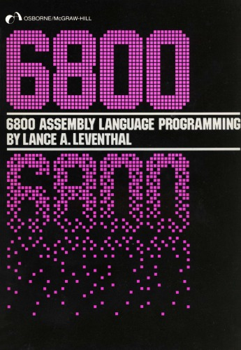 6800 assembly language programming