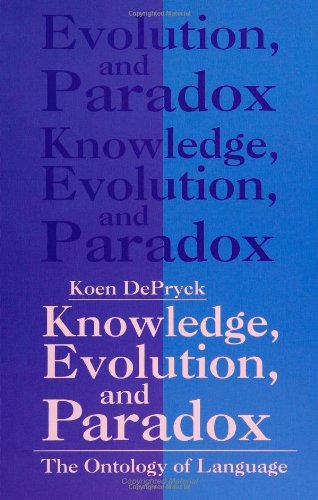 ontological paradox Piotr lukowski' s paradoxes is an abridged, revised and translated version of a  book  the part devoted to ontological paradoxes revolves around vagueness,.