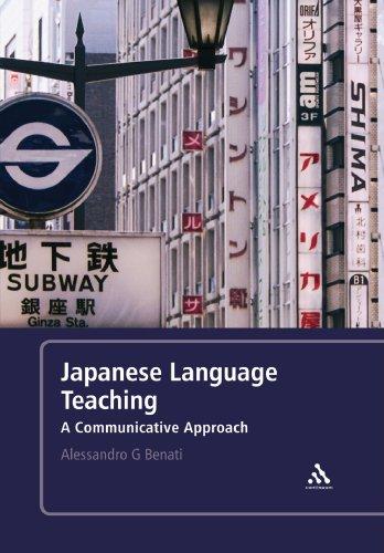 Japanese Language Teaching: A Communicative Approach