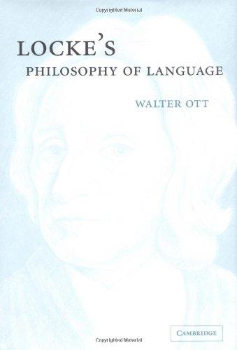 Lockes Philosophy of Language