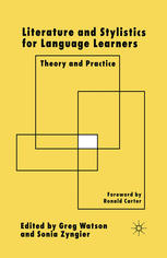 Literature and Stylistics for Language Learners: Theory and Practice