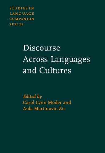 Discourse across Languages and Cultures (Studies in Language Companion)