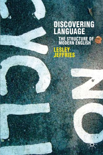 discovering language: the structure of modern english