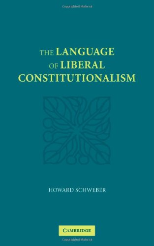 The Language of Liberal Constitutionalism