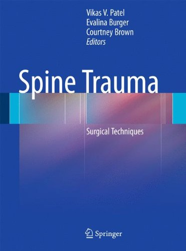 spine trauma: surgical techniques