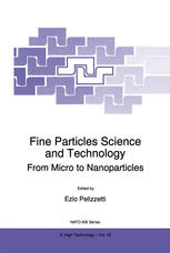 Fine Particles Science and Technology: From Micro to Nanoparticles