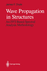 Wave Propagation in Structures: An FFT-Based Spectral Analysis Methodology
