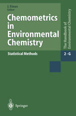 Chemometrics in Environmental Chemistry - Statistical Methods