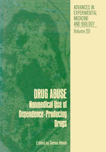 Drug Abuse: Nonmedical Use of Dependence-Producing Drugs