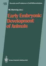 Early Embryonic Development of Animals