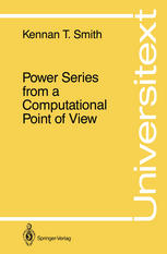 Power Series from a Computational Point of View