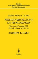 Philosophical Essay on Probabilities
