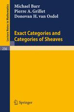 Exact Categories and Categories of Sheaves