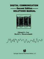 Digital Communication: Solutions Manual