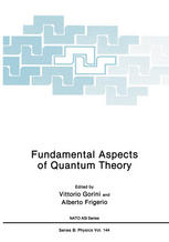 Fundamental Aspects of Quantum Theory