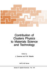 Contribution of Clusters Physics to Materials Science and Technology: From Isolated Clusters to Aggregated Materials