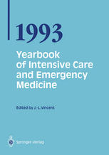 Yearbook of Intensive Care and Emergency Medicine 1993