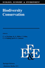 Biodiversity Conservation: Problems and Policies