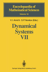 Dynamical Systems VII: Integrable Systems Nonholonomic Dynamical Systems