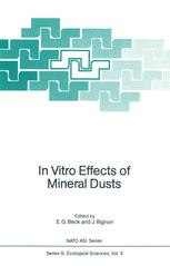 In Vitro Effects of Mineral Dusts: Third International Workshop