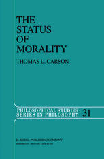 The Status of Morality