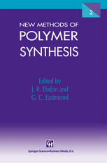 New Methods of Polymer Synthesis: Volume 2