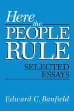 Here the People Rule: Selected Essays