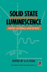 Solid State Luminescence: Theory, materials and devices