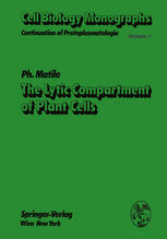 The Lytic Compartment of Plant Cells