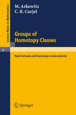 Groups of Homotopy Classes: Rank formulas and homotopy-commutativity