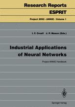 Industrial Applications of Neural Networks: Project ANNIE Handbook