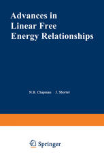 Advances in Linear Free Energy Relationships