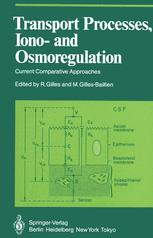 Transport Processes, Iono- and Osmoregulation: Current Comparative Approaches