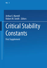 Critical Stability Constants: First Supplement